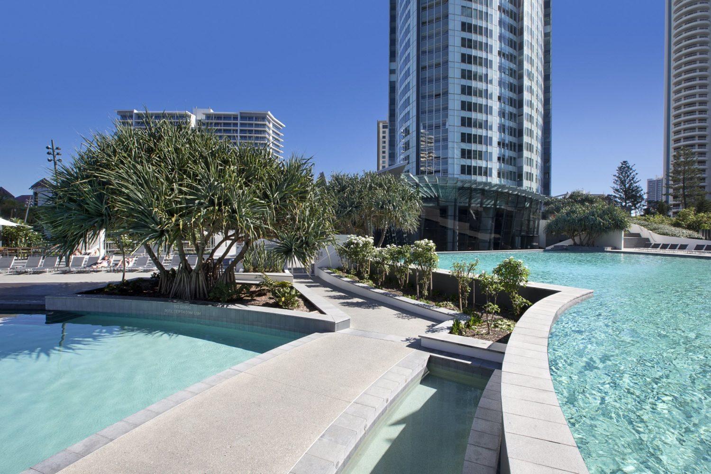 Q1 Resort Lagoon Pools
