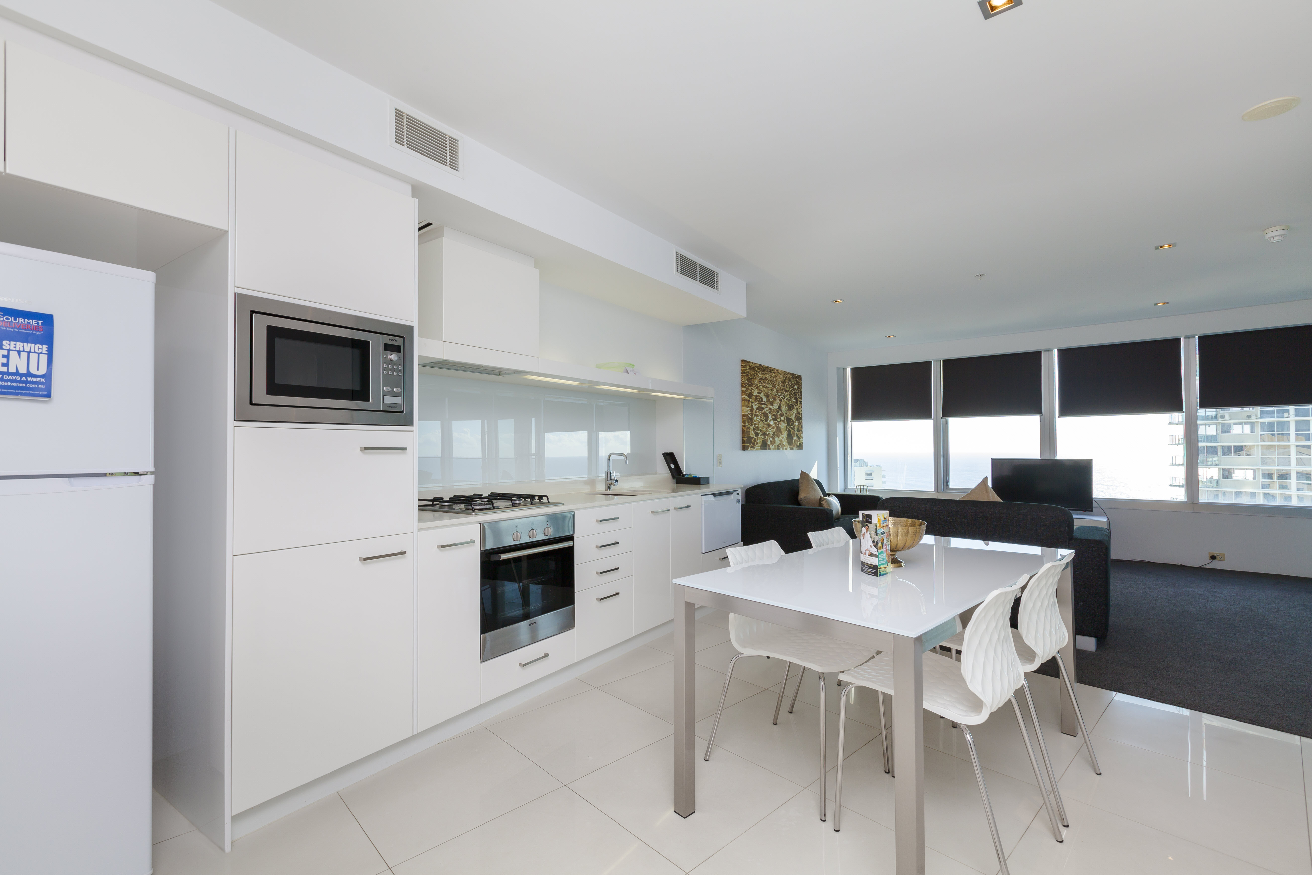 Q1 Resort & Spa One Bedroom Ocean Spa Apartment | Kitchen