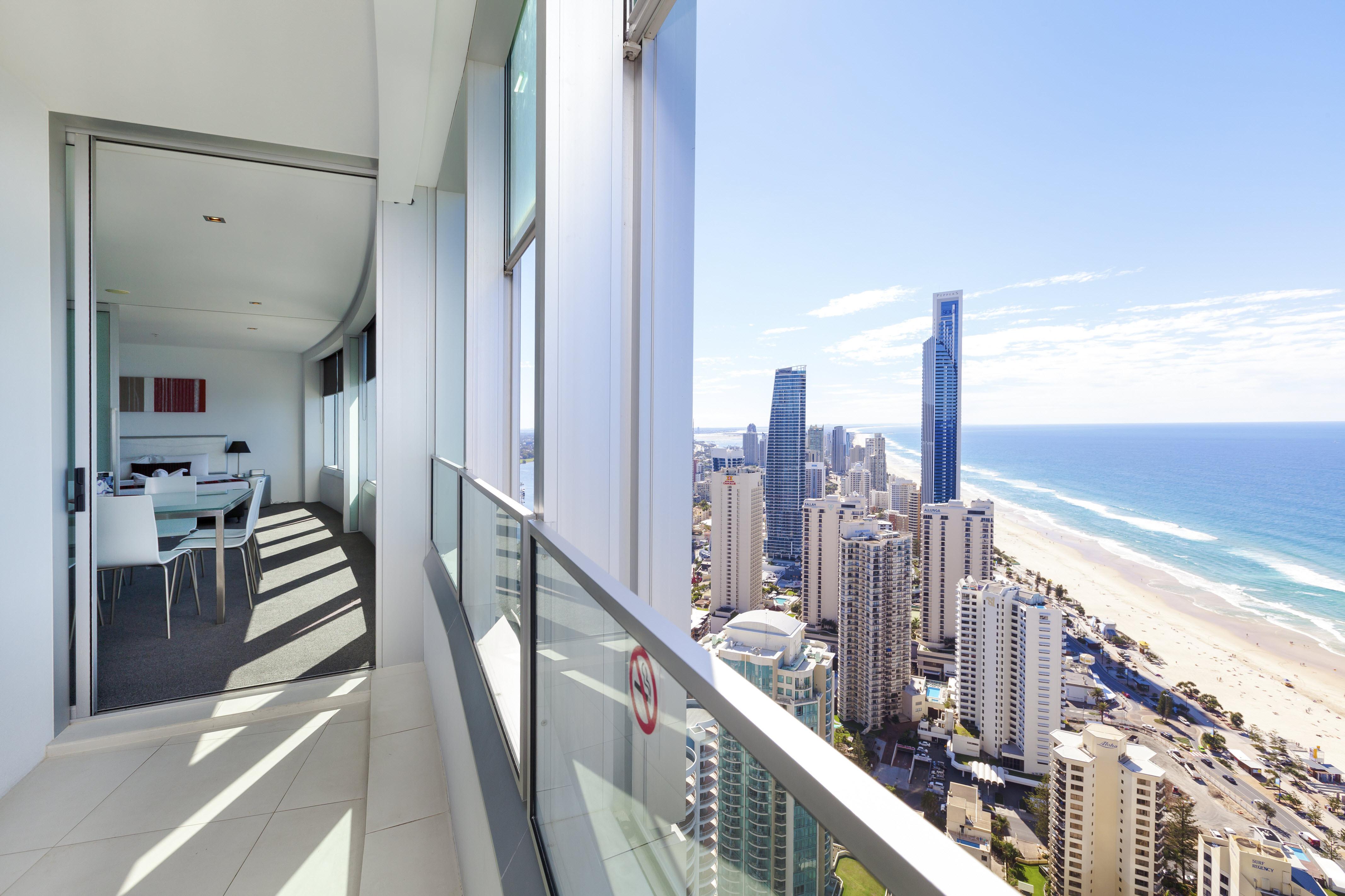 Q1 Resort & Spa Three Bedroom Ocean Spa Apartment | Balcony Views