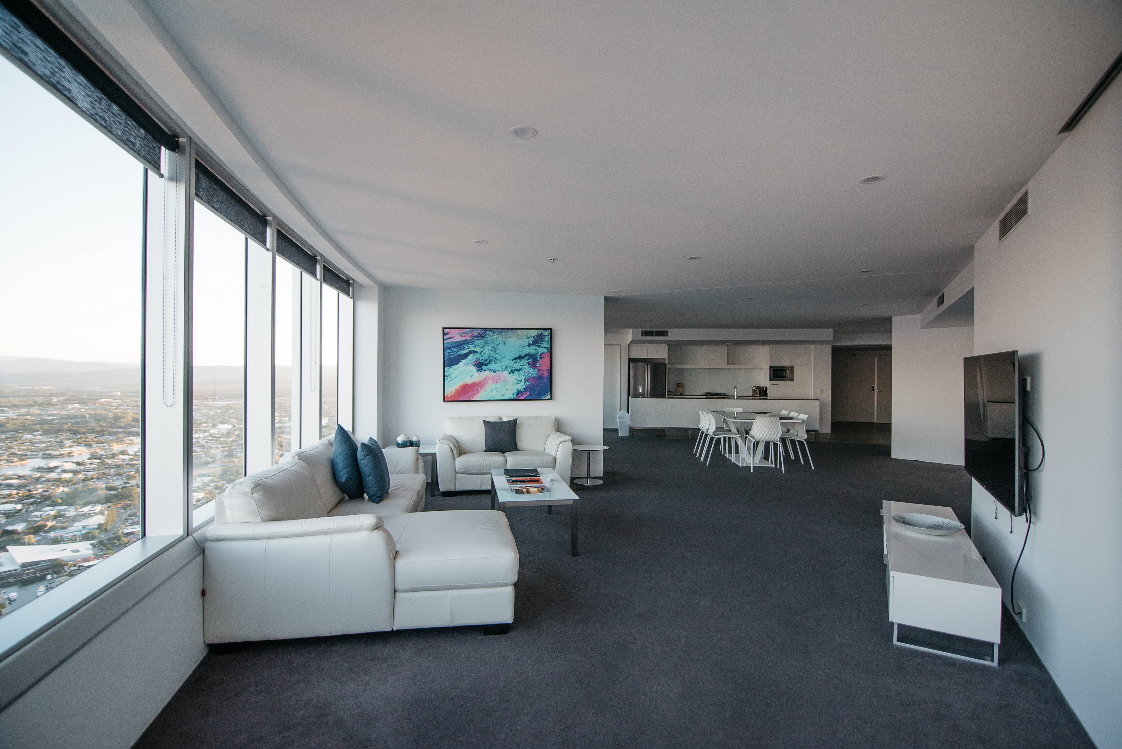 Q1 Resort & Spa Three Bedroom Sub Penthouse Apartment | Living Area