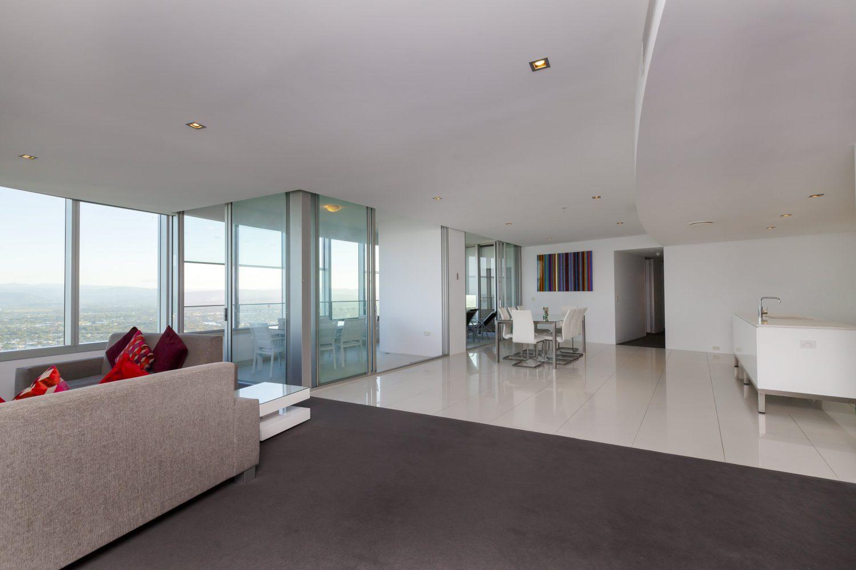 Q1 Resort & Spa Four Bedroom Executive Spa Apartment   Balcony
