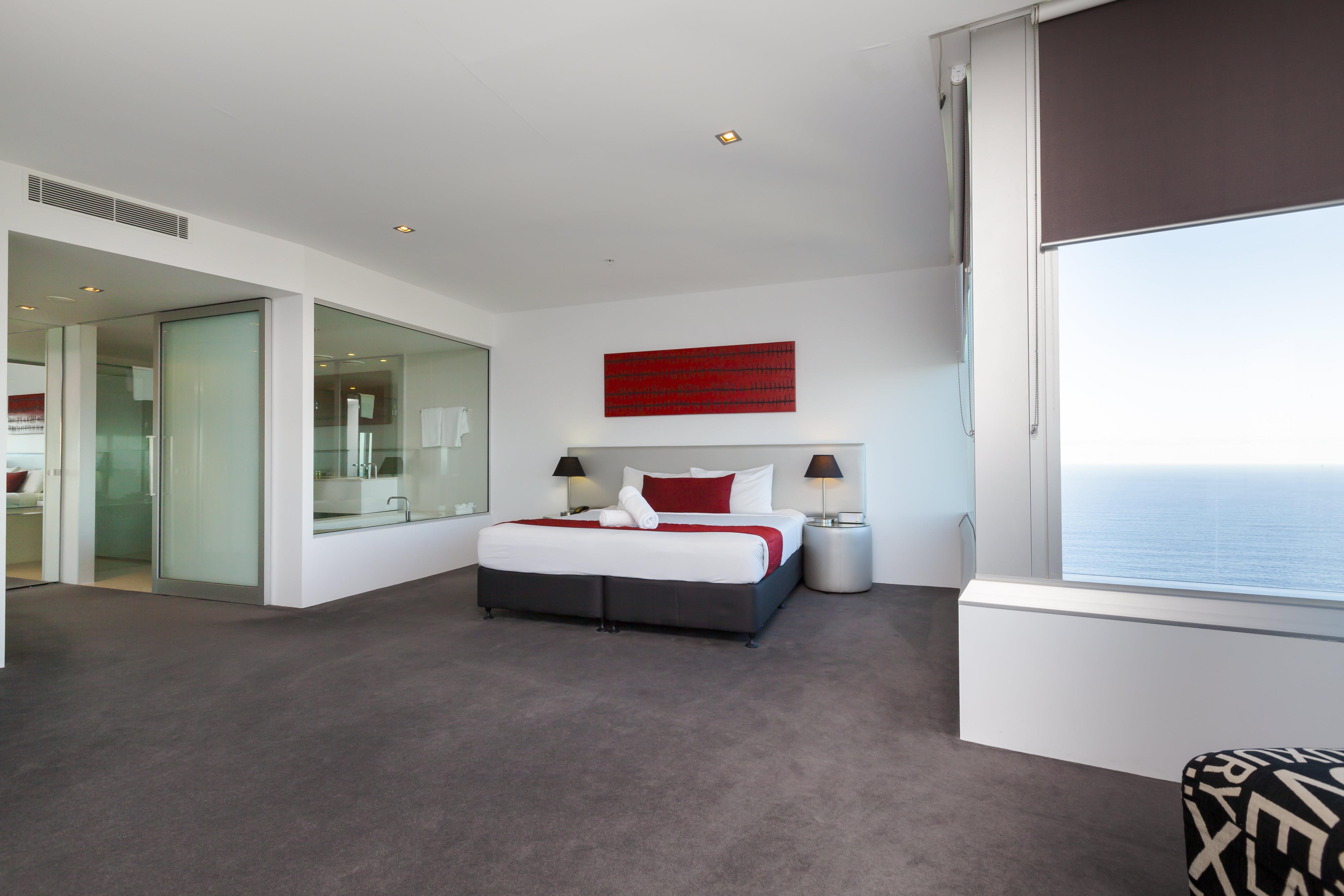 Q1 Resort & Spa Four Bedroom Executive Spa Apartment | Master Bedroom