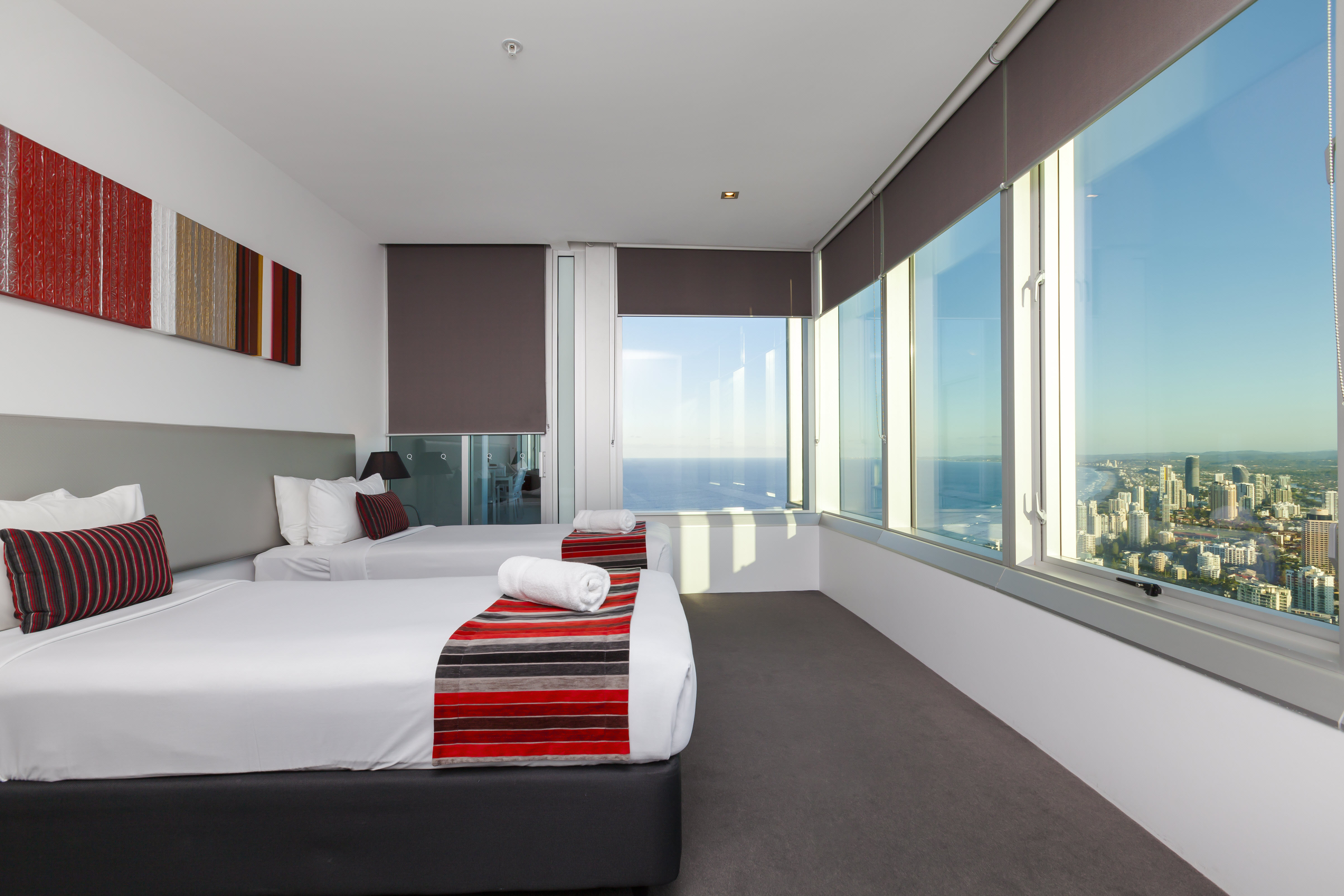 Q1 Resort & Spa Four Bedroom Executive Spa Apartment | Bedroom
