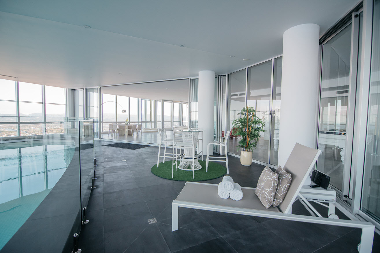 Q1 Resort & Spa Presidential Penthouse | Private Pool Deck