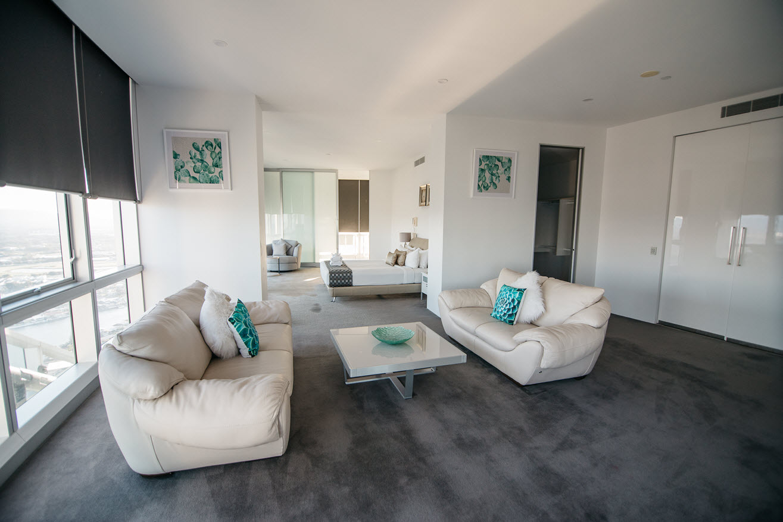 Q1 Resort & Spa Presidential Penthouse | Master Study