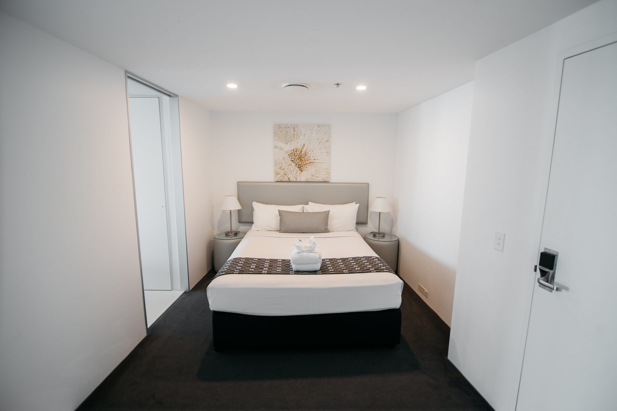 Q1 Resort & Spa One Bedroom Family Spa Apartment | Second Sleeping Area