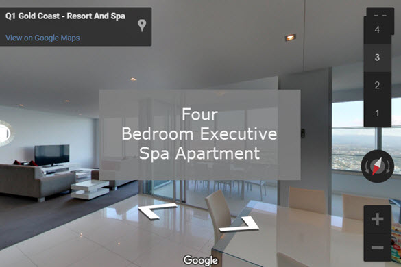 Q1 Resort & Spa | Four Bedroom Executive Spa Virtual Tour