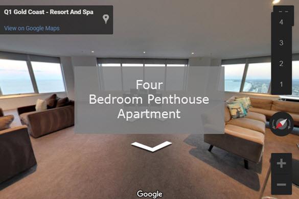Q1 Resort & Spa | Four Bedroom Penthouse Virtual Tour