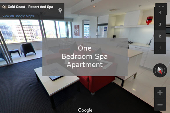 Q1 Resort & Spa | One Bedroom Spa Virtual Tour