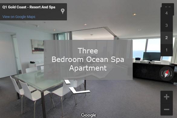 Q1 Resort & Spa | Three Bedroom Ocean Spa Virtual Tour