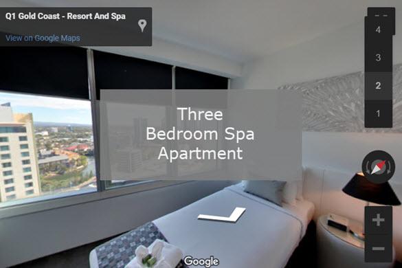 Q1 Resort & Spa | Three Bedroom Spa Virtual Tour