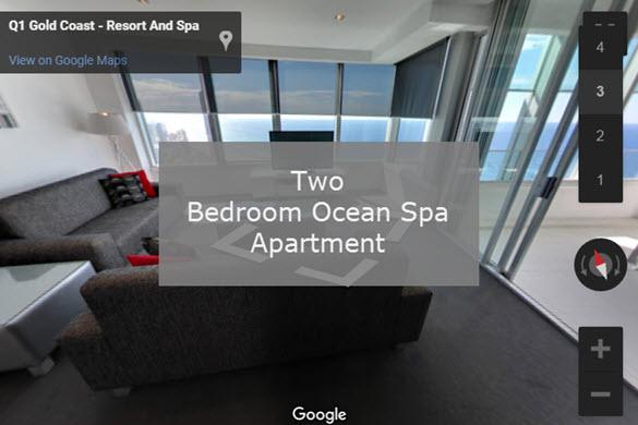 Q1 Resort & Spa | Two Bedroom Ocean Spa Virtual Tour