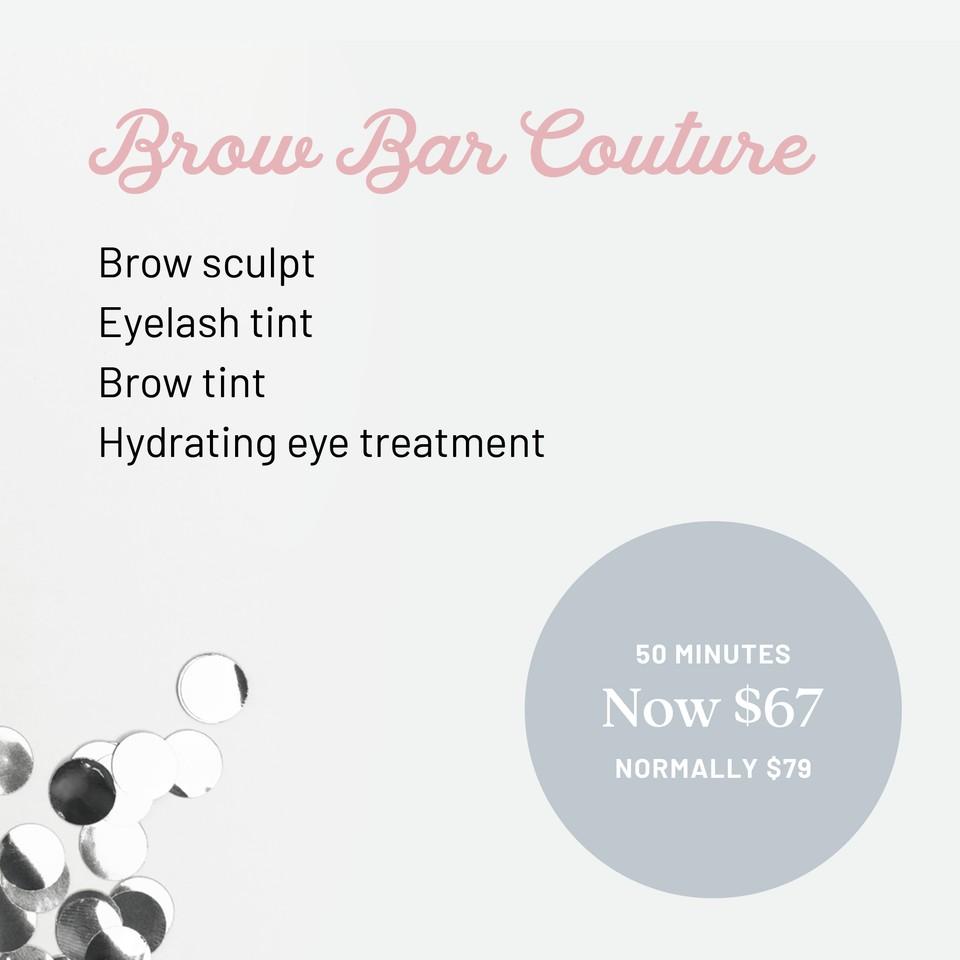 Q1 Resort & Spa | Stephanies Wellness Spa Brow Bar Couture