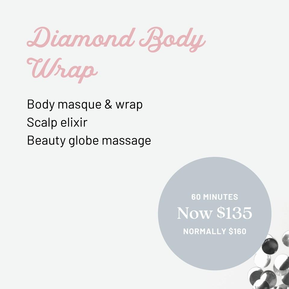 Q1 Resort & Spa | Stephanies Wellness Spa Diamond Body Wrap