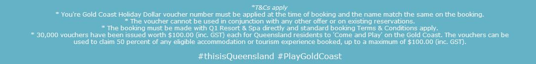 Q1 Resort & Spa | Terms