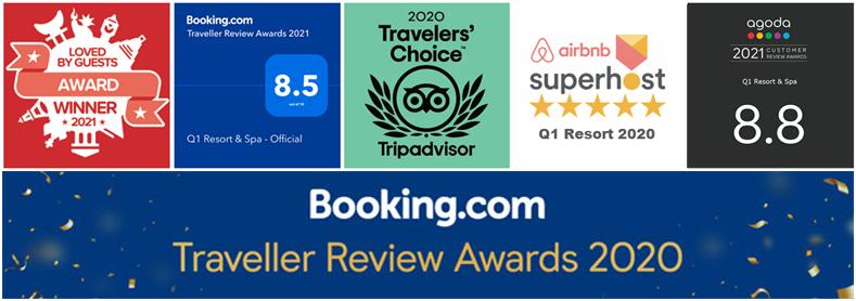 Q1 Resort & Spa | Q1 awards 2021