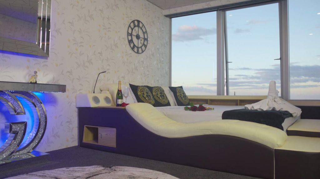 Two Bedroom Penthouse Apartment | Master Bedroom